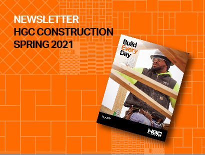graphic of Spring Newsletter 2021
