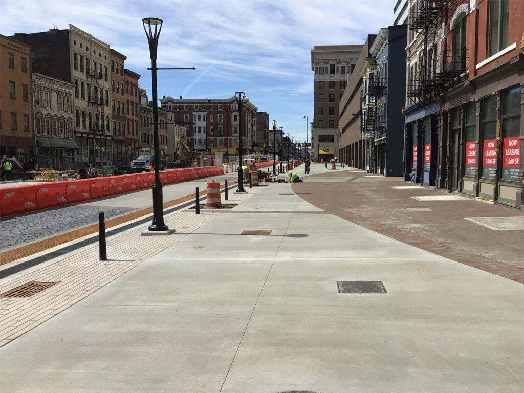 Court Street plaza project