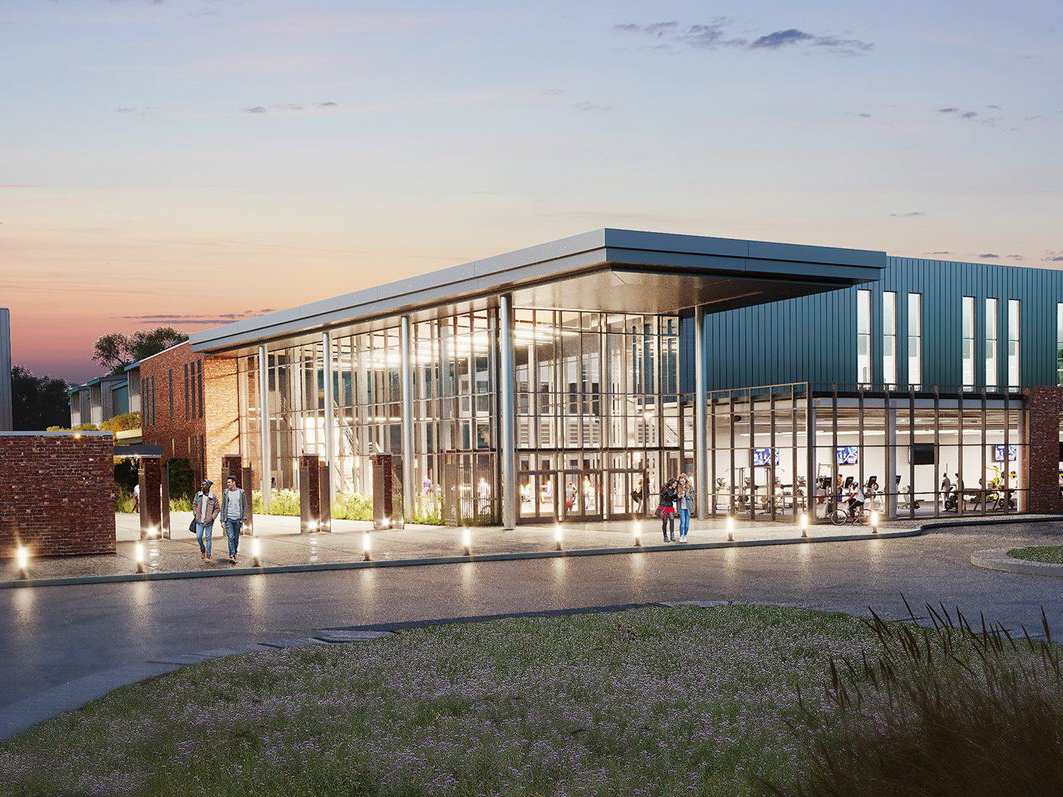 exterior of Centre College awards Athletic Center