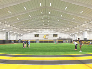 rendering of Centre College planned Centre College Center for Wellness and Athletic Excellence
