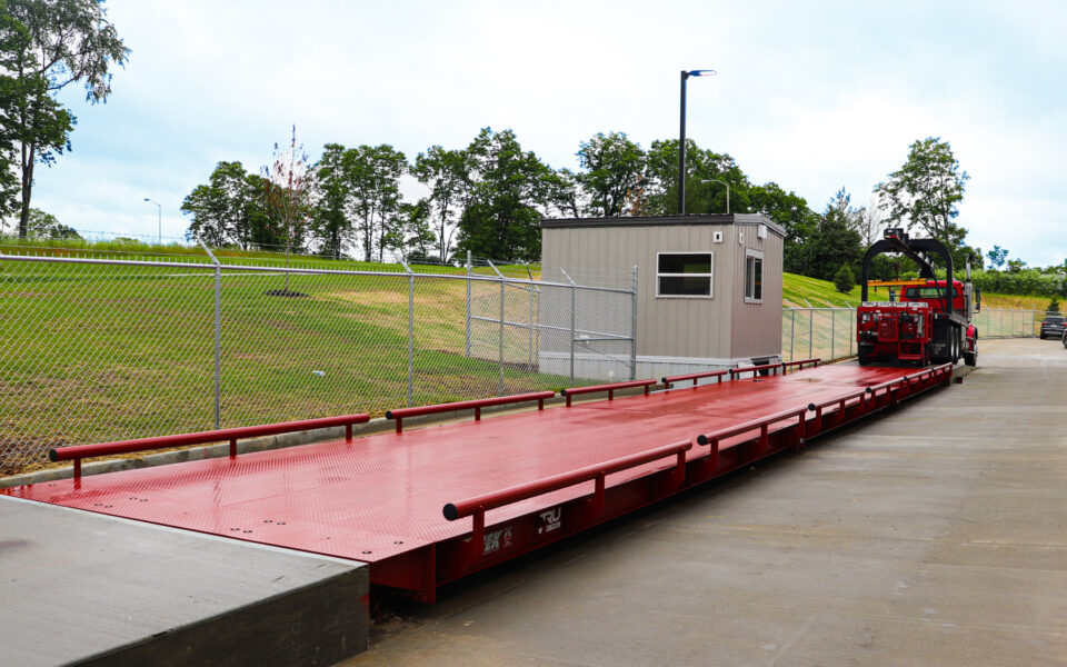 ramp for waste transfer facility