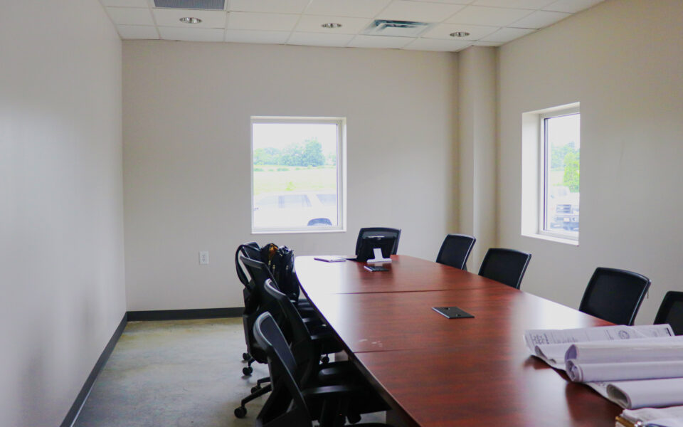 New conference room within Rumpke waste transfer facility in Georgetown