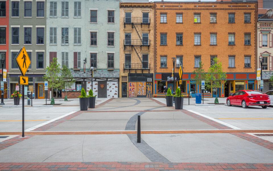 court street pedestrian plaza