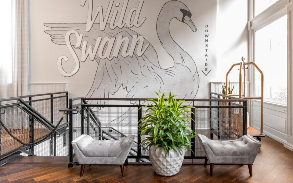 staircase to wild swann