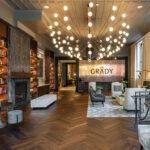 lobby at the grady